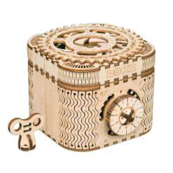 Le puzzle en bois boite aux trésors assemblé