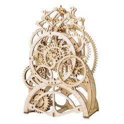 Puzzle de L'horloge à pendule en bois assemblée