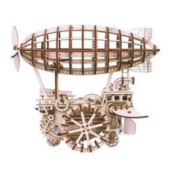 Le dirigeable 3 dimensions en bois assemblé