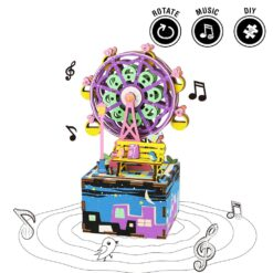 grande roue puzzle en bois