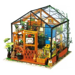 Maison miniature assemblée DIY