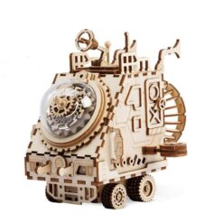 véhicule martien puzzle mécanique en bois 3D assemblé