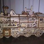 LA LOCOMOTIVE DU TEXAS - PUZZLE MÉCANIQUE EN BOIS 3D