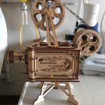 LE PROJECTEUR DE FILM - PUZZLE MÉCANIQUE EN BOIS 3D