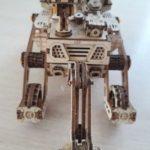 ENGINS DE L'ESPACE- PUZZLE MÉCANIQUE EN BOIS 3D