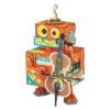 Robot musical mecapuzzle