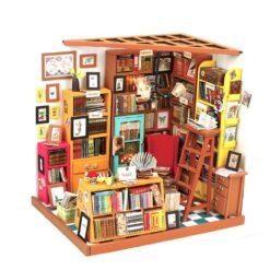 Bibliothèque miniature Mecapuzzle