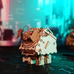 Seymour chien- Puzzle musical en bois 3D