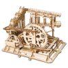 descente express-puzzle mécanique en bois 3D