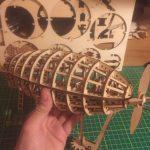 LE DIRIGEABLE -PUZZLE MÉCANIQUE EN BOIS 3D