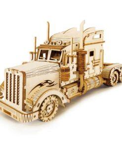 MECAPuzzle Camion Poids Lourd _ 3D MÉCANIQUE EN BOIS