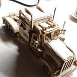 Puzzle Camion Poids Lourd _ 3D MÉCANIQUE EN BOIS