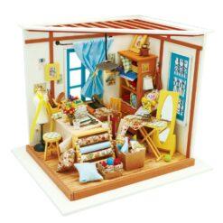 Atelier de couture - Maquette miniature 3D