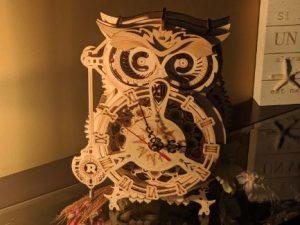 Horloge Hibou- Puzzle en bois 3D photo review