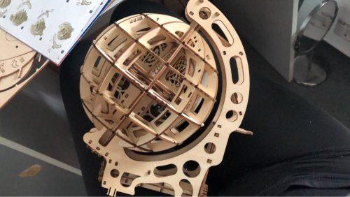 Puzzle 3D globe en bois photo review