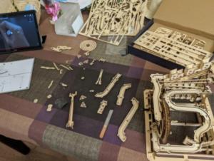 MONTAGNES RUSSES - PUZZLE MÉCANIQUE EN BOIS 3D photo review