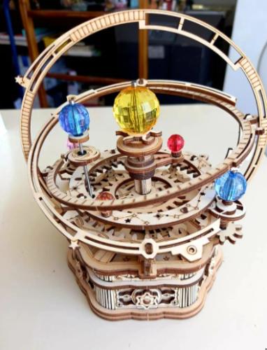Puzzle planétarium-Système solaire en bois 3D photo review