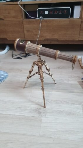 Puzzle Télescope en Bois 3D photo review