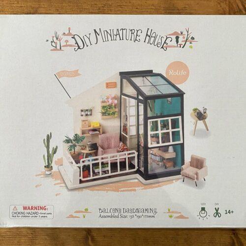 BALCON MINIATURE - MAQUETTE  3D photo review